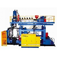 blow molding machine PTB200 Series (specially designed for HWMHDPE L ring barrel)
